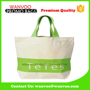Shoulder Promotional Shopping Canvas Cotton Tote Bag for Beach pictures & photos