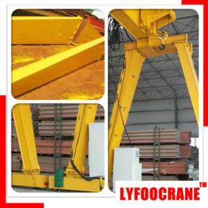Top Design 20t Mobile Double Girder Gantry Crane pictures & photos