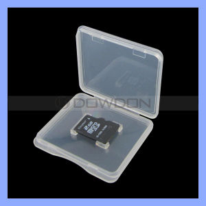 Wholesale Price Plastic TF Micro SD Memory Card Case pictures & photos
