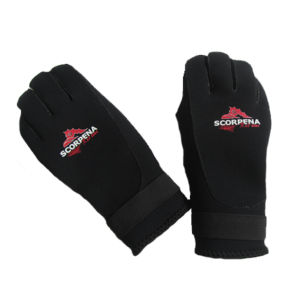 Gloves with Waterproof Printing for Diving & Fishing (HX-G0065) pictures & photos