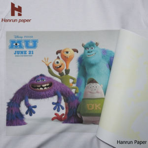 Light T Shirt Heat Transfer Printing Paper Heat Press Paper pictures & photos