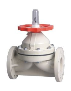 Best Factory Pph Diaphragm Valve, Industrial Plastic Valve, PVC Valve pictures & photos