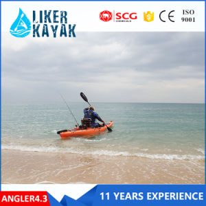 Wholesale Ce Certification Fishing Boat Kayak LLDPE/HDPE No Inflatable Boat pictures & photos