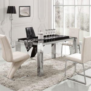 Living Room Furniture Dining Table with Marble Top pictures & photos