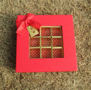 Custom Candy Rigid Boxes with Windows pictures & photos