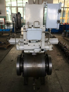 Pneumatic Fix Forged on-off Ball Valve pictures & photos
