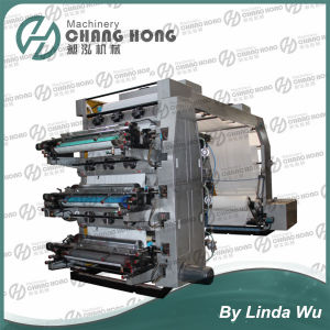 High Speed Six Colors Polyethylene Flexo Printing Machine pictures & photos