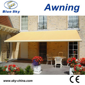 Outdoor Horizontal Polyester Motorized Retractable Awning B4100 pictures & photos