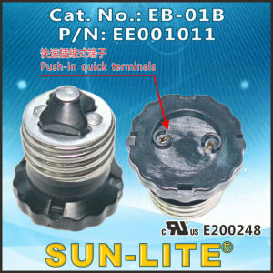 E26 Adapters Lamp Holders (Push-in quick terminals) ; Eb-01b