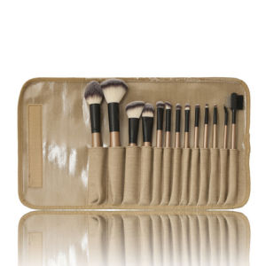 13PCS Professional Cosmetic Brush with Fabric Pouch pictures & photos