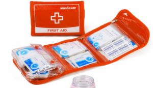 Nylon Material Waterproof Outdoor First Aid Kit pictures & photos