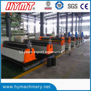 W11f-8X2000 Mechanical Type 3 Roller Asymmetrical Ss Plate Bending Machine pictures & photos