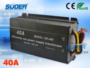 Suoer Electricdc 24V to 12V 40A Power Supply Transformer (SE-460) pictures & photos