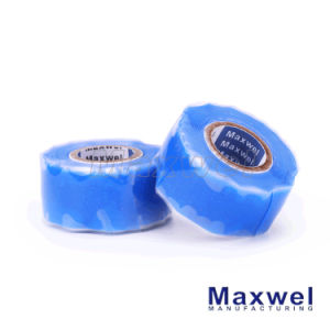 Blue Silicone Rubber Wrapping Tape pictures & photos