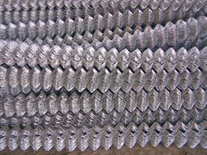 PVC Coated Chain Link Fence / Galvanized Chain Link Fencing/ Chain Link Netting From Yaqi Wiremesh Company pictures & photos