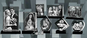 2D Crystal Photo Engraving Machine with High Speed for Small Business pictures & photos