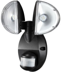 Solar Wall. E 4W Twin Head Spot Security Light pictures & photos