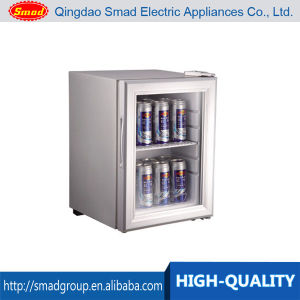 lockable counter top glass door mini fridge for display - Glass Door Mini Fridge