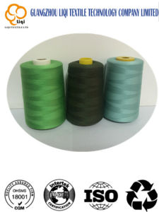 High Tenacity Thread Colorful 100% Polyester Thread pictures & photos