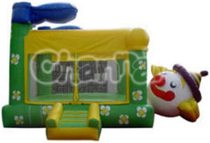 China Factory Belly Clown Inflatable Bouncy Castle pictures & photos