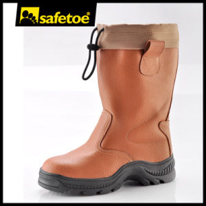 Rubber Outsole Winter Boots (H-9426) pictures & photos