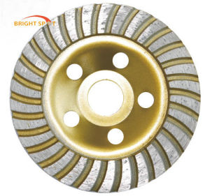115mm Turbo Cup Grinding Wheel pictures & photos