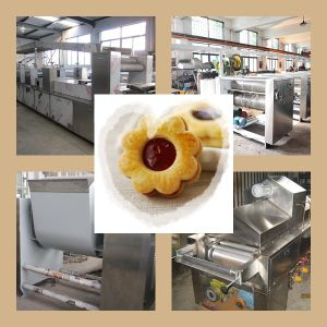 High Capacity Gas Sandwich Biscuit Production Line pictures & photos