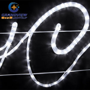 Animated 290cm Wide LED White ′merry Christmas′ Motif Rope Lights pictures & photos