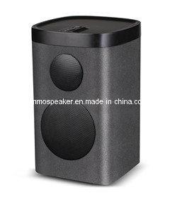 2015 New Speaker: Dlna Airplay Miracast 20W Wooden Wireless WiFi WLAN Speaker for Pandora, Spotify, Deezer, and More