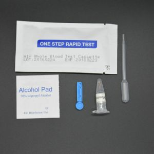 HIV 1+2 Rapid Test Kit Suppliers One Step HIV Rapid Test Kits Cassette pictures & photos
