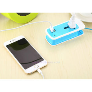 USB Port Charger 1-Digit EU Plug Electric Power Adapter Strip Socket pictures & photos