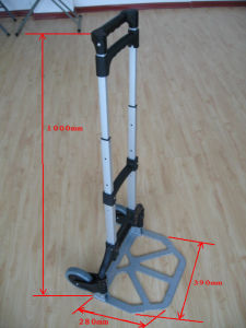 Two Caster Wheel Type Foldable Luggage Hand Trolley pictures & photos