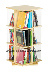 Wholesale 3 Tier Rotating Book Display pictures & photos