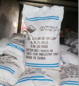 2016 Hot Sale Used in Hot Galvanization Industry Zinc Chloride pictures & photos