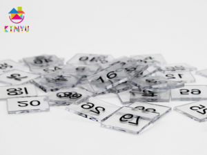 2015 Hot Sale Learning Educational Toy / Plastic Number Tiles pictures & photos