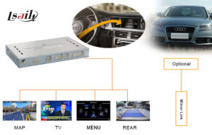 HD All-Purpose Car Upgrade GPS Navigation Video Interface Box for 09-14 Audia4l, Wince6.0, Tracker pictures & photos
