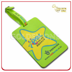 Customized Style Mold Injection Soft PVC Luggage Tag pictures & photos