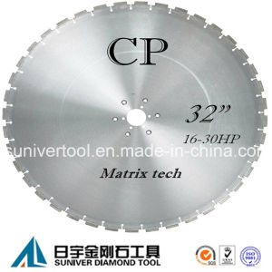 """32"""" Diamond Wall Saw Blade for Reinforced Concrete pictures & photos"""