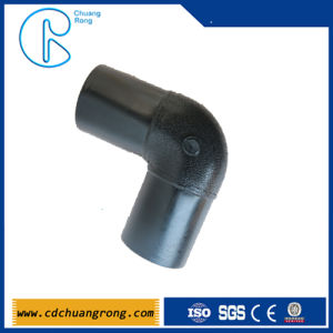Butt Fusion Elbow Pipe Fitting for PE Plastic Piping pictures & photos