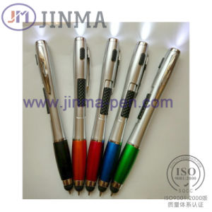 The Promotion LED Pen Jm-M034 with One Stylus Touch pictures & photos