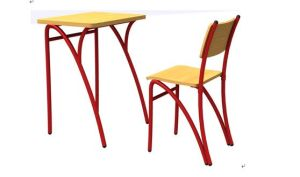 Single School Chair and Table Classroom Furniture Trainting Table and Chair pictures & photos
