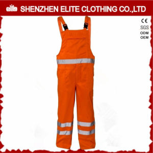 AS/NZS 4602.1: 2011 Safety 3m Reflective Work Bib Overalls (ELTCVJ-91) pictures & photos