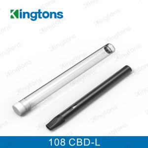 Kingtons Wholesale Vaporizer Pen Mini Ecig 108 Cbd-L Cbd Vaproizer Black Color pictures & photos