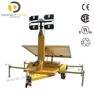 200W LED Solar Light Tower pictures & photos