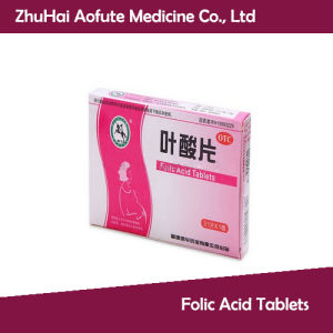 OEM&GMP Certificated Folic Acid Tablets pictures & photos