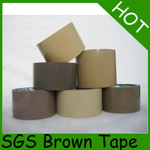 6 Rolls Flat Shrink BOPP Packaging Tape with Label pictures & photos
