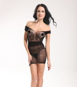 Woman Erotic Sleevelss Sexy Lingerie Fishnet Babydoll 8910 pictures & photos