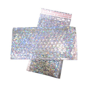 Glittery Metallic Bubble Packing Bags pictures & photos