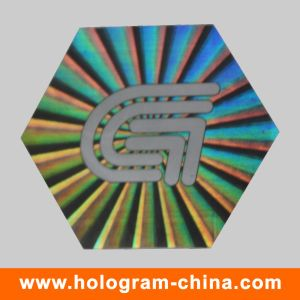 Security Anti-Fake 3D Laser Hologram Sticker Label pictures & photos