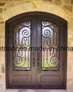 Modern Wrought Iron Decorative Exterior Door Gates pictures & photos